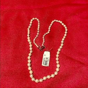 Monet Jewelry - NWT Monet Pearl Necklace